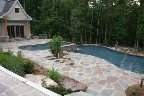 Mountain Lake Swimming Pool